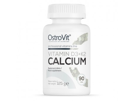 Vitamin D3+K2 Calcium (90 таблеток)
