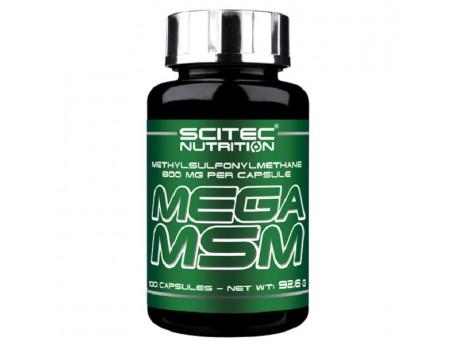Mega MSM Scitec Nutrition (100 капсул)
