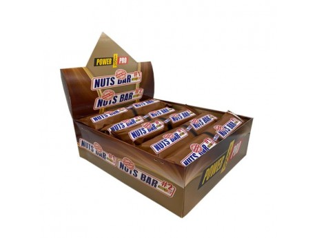 Батончики Nats Bar Power Pro без сахара (20 шт)