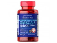 Extra Strength Active Omega-3 Fish Oil 1500мг (60 капсул)