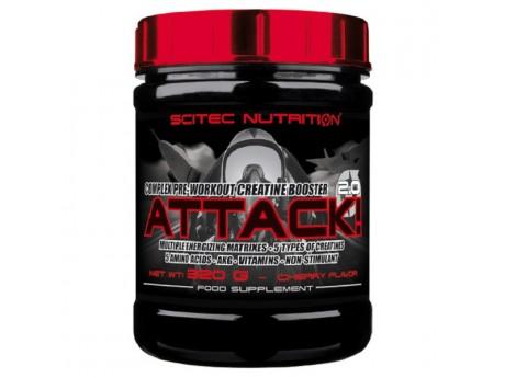 Предтренировочный комплекс Attack 2.0 SCITEC NUTRITION (320 грамм)