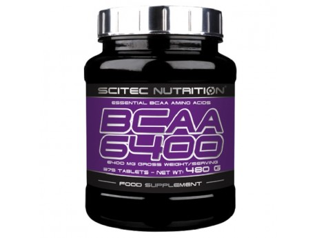 BCAA 6400 SCITEC NUTRITION (375 таблеток)