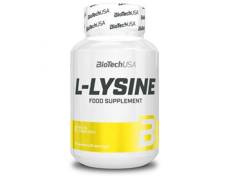 Аминокислота L-Lysine BioTecUSA (90 капсул)
