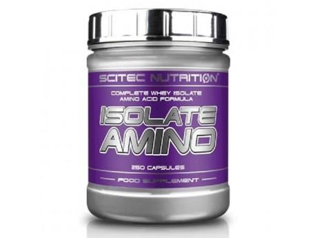 Комплексные аминокислоты Isolate Amino Scitec Nutrition (250 капсул)
