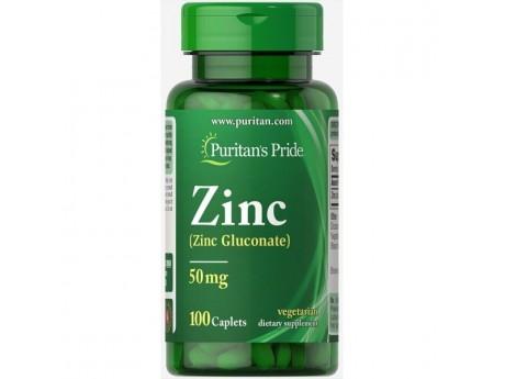 Zinc 50 мг Puritan Pride (100 таблеток)