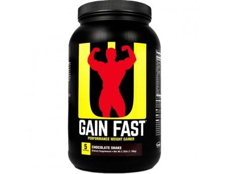 Гейнер GAIN FAST 3100 Universal Nutrition 1.1 кг
