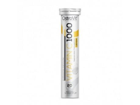 Шипучие таблетки Vitamin C Ostrovit (20 таблеток)