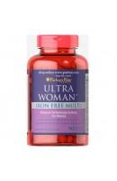 Витамины Ultra Woman Daily Multi Iron Free (90 таблеток)