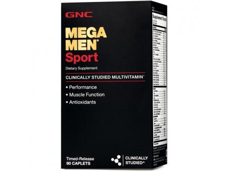 Витамины Mega Men Sport GNC (90 таблеток)