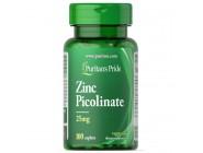 Zinc Picolinate 25мг Puritan's Pride (100 таблеток)