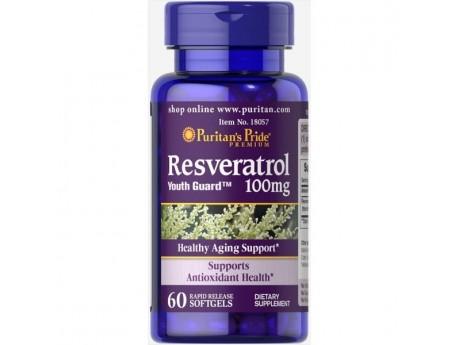 Resveratrol 100 mg 60 капсул