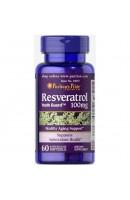 Resveratrol 100 мг Puritan's Pride (60 капсул)