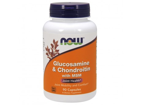 Glucosamine Chondroitin MSM Now Foods (90 капсул)
