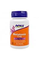 Melatonin 3 мг Now Foods (60 капсул)