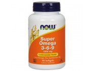 Super Omega 3-6-9 Now Foods (90 капсул)