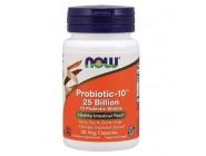 Probiotic-10 25 Billion Now Foods (30 капсул)