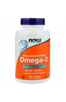 Omega-3 1000 mg Now Foods (200 капсул)
