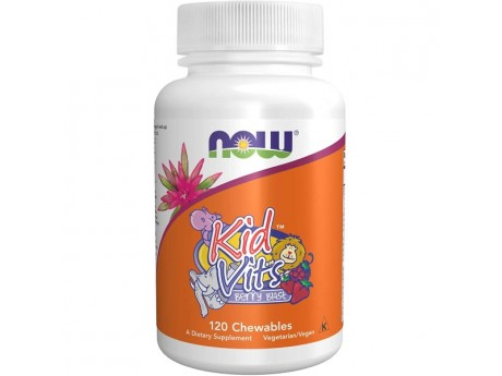 Мультивитамины Kid Vits Now Foods (120 капсул)