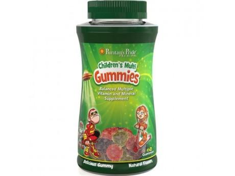 Детские Витамины и Минералы 60 жевательных конфет