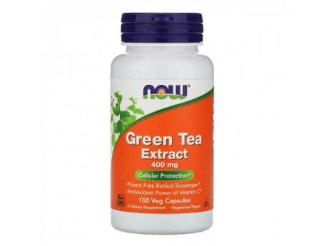 Green Tea Extract 400 мг Now Foods (100 капсул)