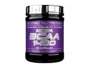 MEGA BCAA 1400 Scitec Nutrition (180 капсул)