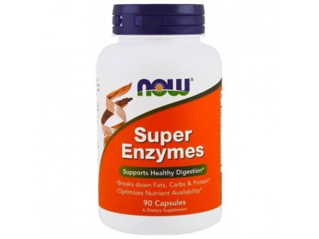 Super Enzymes Now Foods (90 таблеток)