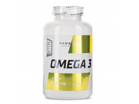 Omega 3 Progress Nutrition (120 капсул)