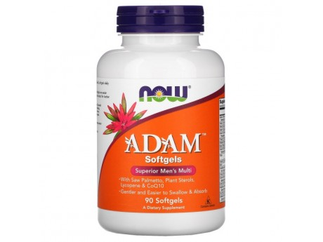Adam Men's Multi Now Foods (90 таблеток)