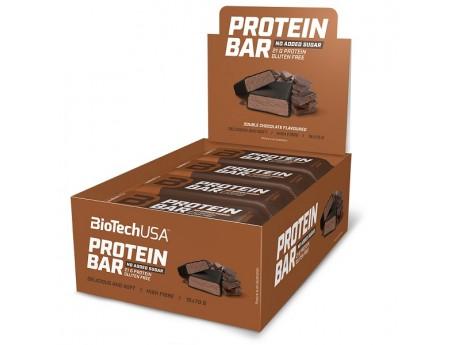 УПАКОВКА БАТОНЧИКОВ Protein Bar BIOTECH USA (16 шт)