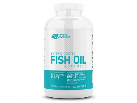 Enteric Coated Fish Oil (100 капсул)
