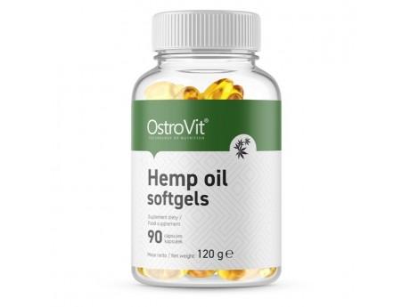 Конопляное масло Hemp Oil Ostrovit (90 капсул)