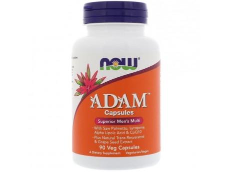 ADAM Superrior Men's Multi Now Foods (90 VEG капсул)