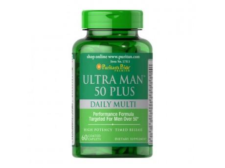 Multi-Vitamin Ultra Man 50 Plus (60 таблеток)