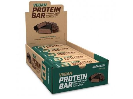 Упаковка Батончиков Vegan Bar BioTech USA (20 шт)