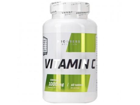 Vitamin C 1000 Progress Nutrition (60 таблеток)