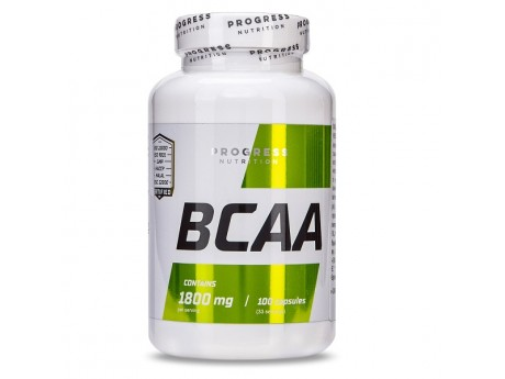 ВСАА 1800 мг Progress Nutrition (100 капсул)