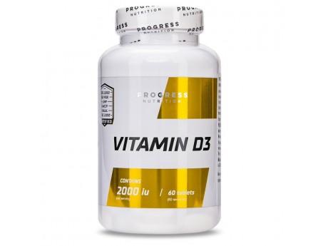 Vitamin D3 Progress Nutrition (60 таблеток)
