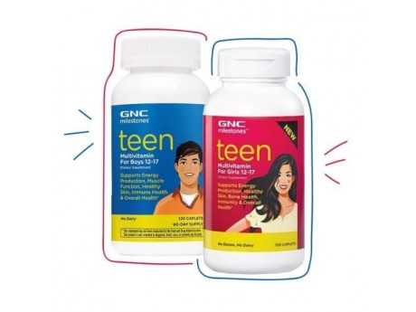 Комплект витаминов для подростков GNC