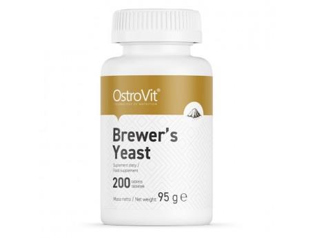 Brewers Yeast Пивные дрожжи Ostrovit (200 таблеток)