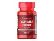 Йохимбе Yohimbe 2000 мг Puritan's Pride (50 капсул)