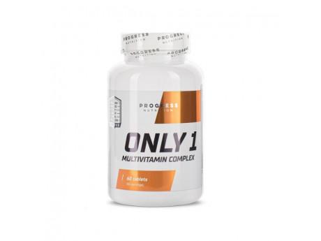 Витамины Only 1 Progress Nutrition (60 таблеток)