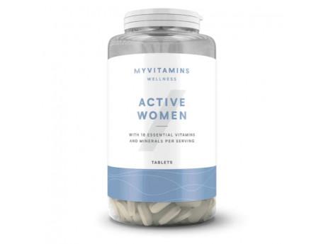 Multivitamin для женщин Active Woman (120 таблеток)