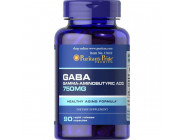 Gaba 750 mg Puritan's Pride (90 капсул)