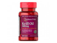 Red Krill Oil 500 мг Puritan Pride (30 капсул)