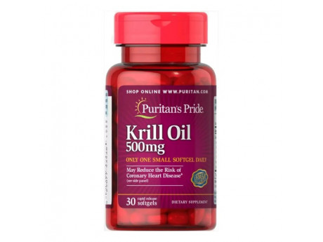 Red Krill Oil 500 mg (30 капсул)