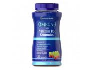 Детские Omega-3 + Vitamin D3 (120 капсул)