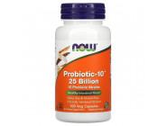 Probiotic-10 25 Billion NOW Foods (100 вег капсул)