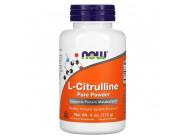 L-Citrulline Pure Powder NOW Foods (113 грамм)