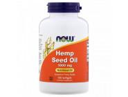 Hemp Seed Oil 1000 mg NOW Foods (120 капсул)
