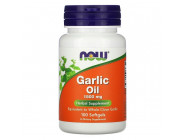 Garlic Oil 1500 NOW Foods (100 капсул)